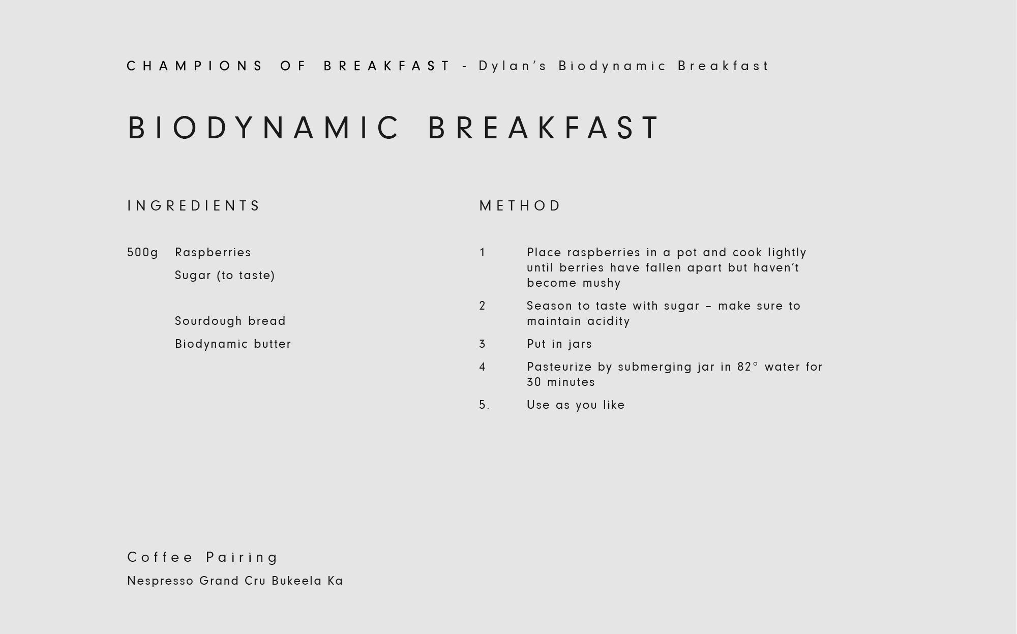 Dylan's Recipe