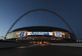 Capital One Wembley Branding